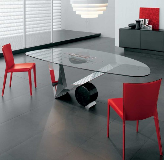 Dining Tables  Contemporary furniture from Ultra Modern
