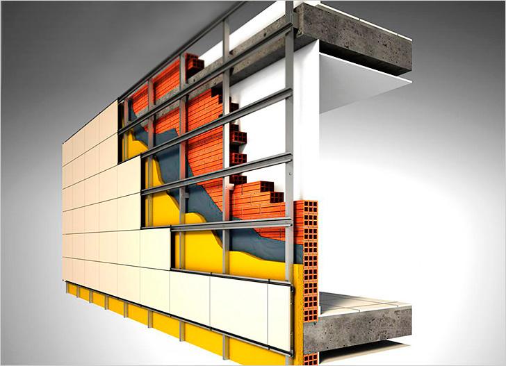 Разнообразные решения для проведения работ по облицовке зданий