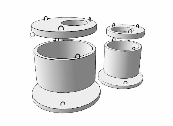 Кольца для колодцев. Производство и применение