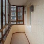 Основные способы отделки балкона