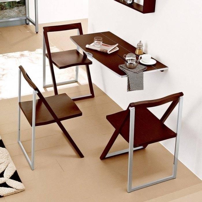 Как выбрать столы и стулья для маленькой кухни